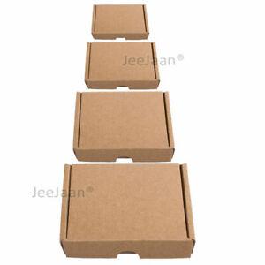 Boxes Brown PIP A4 A5 A6 DL Mini Postage Large Letter RoyalMail Cardboard Postal