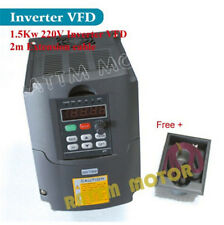 1.5KW 220V VFD Inverter 2HP Variable Frequency Drive VSD For CNC Router HY Brand