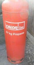 More details for calor gas propane 47kg bottle - empty bottle - save on deposit - collection only