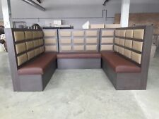 Restaurant barber shop benches, reception booths tables , chairs, home, cafe