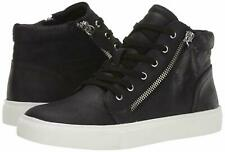 Report Women's Amal Black Charcoal High Top Shoes Sneakers Zipper Size 9.5