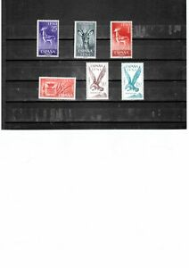 IFNI ( Colonial of Spane) - Wild Animals -  3 MNH + 3 Washed unused stamps