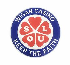 Wigan Casino Scooter Sticker Fits Vespa Sidepanel 145mm Record Box Decal MS56