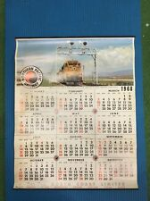 Northern Pacific Railway 1968 Railroad Scenic wall Calendar vista dome railroad