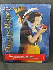 Blanche Neige et les sept nains Steelbook FNAC Blu ray Disney