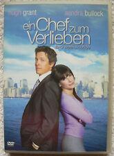 Ein Chef zum Verlieben/Sandra Bullock,Hugh Grant/DVD/Liebesfilm/2002/2003/ FSK 0