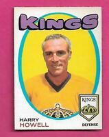 1971-72 OPC # 153 KINGS HARRY HOWELL NRMT  CARD (INV# C9476)