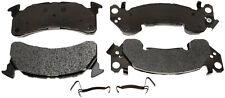 Disc Brake Pad Set-Semi Metallic Disc Brake Pad Front ACDelco Advantage 14D153MH