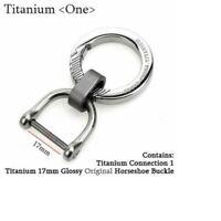 Titanium Key Chain Men Women Keychain Ultra Lightweight EDC Key Ring Holder Buck