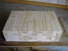 120 große klassische Holzbausteine aus Fichtenholz 120 x 30 x 20 mm