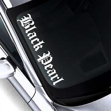 2x BLACK PEARL L Frontscheibenaufkleber Black Pearl KTM AUTO MOTORRAD Aufkleber