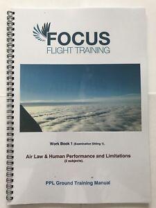 PPL Training Manual Workbook 1 Air Law & Human Performance *EASA COMPLIANT*