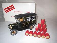"Danbury Mint  ""1925""  Delivery Truck ""Coca Cola""  (schwarz/gelb)  1:24  (11)"