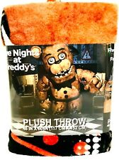 """Franco Manufacturing Co I Survived Five Nights At Freddy's 46"""" X 60"""" Plush Throw"""