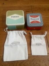 2 Fossil Box Brand New With Dustbags