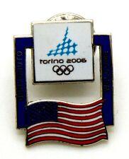 Pin Spilla Olimpiadi Torino 2006 - Bandiere Flag USA