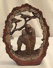 "NEW 7"" GORILLA APE MONKEY STATUE DECORATION WILDLIFE COLLECTIBLE SAFARI FRAME"