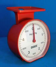 OHAUS METRIC KITCHEN SCALE, 5KG CAPACITY, VINTAGE KITCHEN SCALE