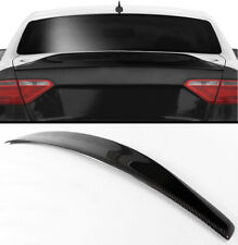 08-2016 AUDI A5 COUPE CAT STYLE CARBON FIBER REAR TRUNK SPOILER BOOT LID WING