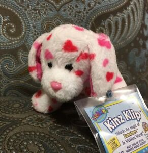 Webkinz Love Puppy Kinz Klip, NWT & Sealed Code  **FAST Shipping **Smoke-free