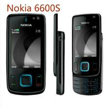 Original Nokia 6600S Slide (Unlocked) cell phone Black 3.2MP Camera Mobile phone
