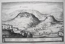La-Mothe-en-Bassigny Frankreich France alter Merian Kupferstich Erstausgabe 1645