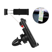 Car Air Vent Mount Clip Universal Support Cell Phone Holder GPS Stand 55-85mm