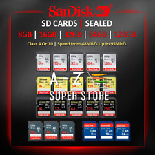 SD Cards SanDisk Extreme Pro Ultra 16gb 32gb 64gb 128gb GB lot RETAIL PACKAGE