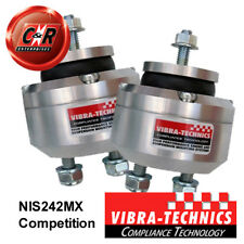 2 x Nissan R34 GT-T Vibra Technics Engine Mount - Race NIS242MX