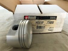 Case of 6 Engine Piston Sealed Power H561P .75MM Chevy 3.1l