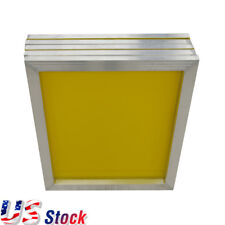 "USA Stock 6pcs 23"" x 31"" Aluminum Silk Screen Frame - 230 Yellow Mesh"