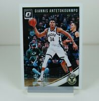 Giannis Antetokounmpo Panini Optic Donruss 2018-2019 #85 Basketball Sports Card