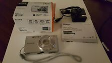 NEW in Open Box- Sony Cyber-Shot DSC-W830 20.1 MP Camera - SILVER - 027242876965