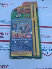 Rule your short game golf training device aid VHS video  Wally Armstrong  ruler