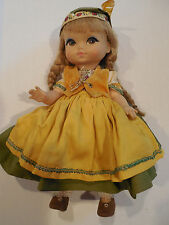 """Vintage 1965 Toy Doll """"Joy...Swiss by Miss Rose for Royal"""" Complete Collectible"""