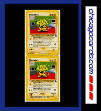 2x Pokemon Promo Card Electabuzz # 46 Black Star MINT Brand New Never Used