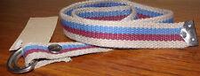 New JPC Cotton Running Horse Belt Size 30 Sand/R.Blu/Burg