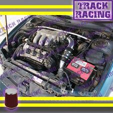 93 94 95 96 97 FORD PROBE GT MAZDA MX6 626 2.5L V6 COLD AIR INTAKE KIT Black Red
