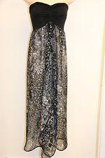 New Raviya Swimsuit Bikini Cover Up Dress Strapless Black Size S