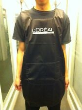 PRO L'OREAL LOREAL HAIR COLOUR APRONS CLOTH / SALON / BLACK