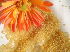 15/0 Toho Seed Beads 11-Silver-Lined Milky Lt Topaz 14 grams  #2110