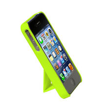 Cirago Green Slim Case with kickstand for Apple iPhone 4S / iPhone 4 IPC1003GRN