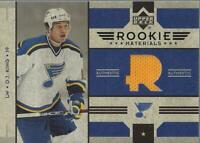2006-07 Upper Deck Rookie Materials #RMDK D.J. King Jersey (yellow) - NM-MT