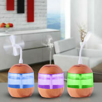 USB Air Diffuser Aroma Oil Humidifier Night Light Up Home Relaxing Defuser
