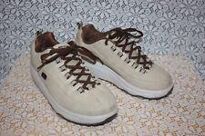 Skechers Tan Leather Shape Ups Toning Walking Sneakers Shoes Womens Size 8