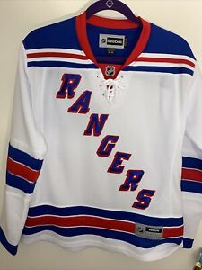 New York Rangers Womens White Reebok Jersey Size Medium M Brand New