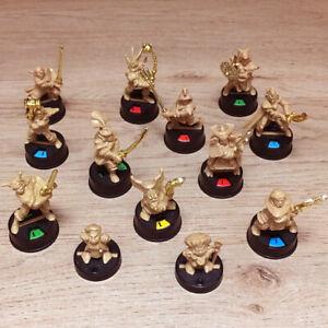 Waddingtons Dark World + Village of Fear & Dragons Gate Hero Model Multi-Listing