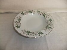 C4 Pottery Alfred Clough Staffordshire Ironstone Bowl Rimmed 22x4cm 6B7A