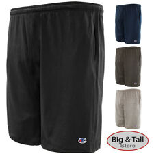 Big Men's Champion Lightweight Cotton Jersey SHORTS 3XL 4XL 5XL 6XL