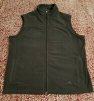 Alpine Polaredge Mens Sweater Fleece Zip Up Vest Size Medium M Grey